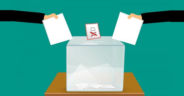 Illustrazione della votazione per il referendum