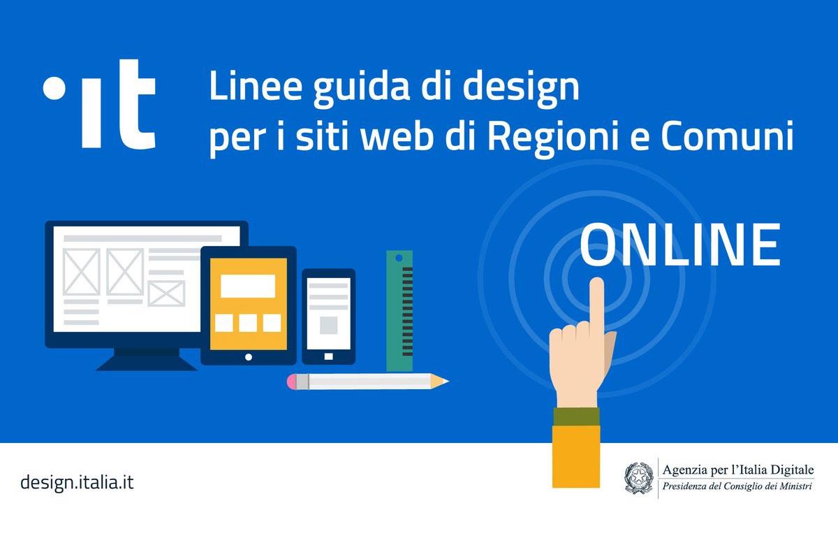 Banner Linee Guida per i siti di Regioni e Comuni